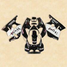 Black West ABS Plastic Fairing Bodywork For Honda CBR400RR CBR 400 RR NC23 88 89