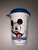 Vintage DISNEY PARKS Whirley Popcorn Bucket Drink Souvenir With Lid