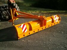 More details for snow plough for front or rear linkage. manual angling