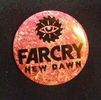 Far Cry New Dawn Collectible Pin Button Ps4 Xbox one pc Rare