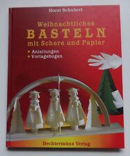 Horst Schubert weihnachtliches Basteln mit Sch…