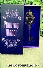 Clé Disneyland Paris Phantom Manor Key Henri Ravenswood 26 octobre