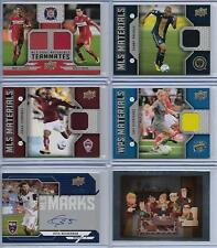 OMAR CUMMINGS COLORADO RAPIDS 2016 UD MLS MATERIALS SOCCER #M-OC