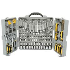 Practical 205pcs Mechanic Hand Tool Set Socket Wrenches Home Car Repair Tool Kit
