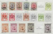 18 Middle Eastern Stamps from Quality Old Antique Album 1922-1925
