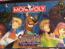 Scooby-Doo! Monopoly  FRIGHT FEST EDITION 2000 GAME  Game Parts