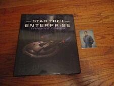 Star Trek Enterprise Archives (Quotable & Heroes and Villains) Binder Album + R1