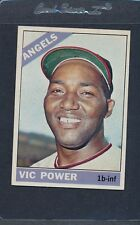 1966 Topps #192 Vic Power Angels EX *3041