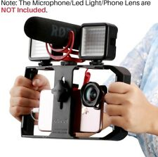 Smartphone Video Rig iPhone Camera Rig Mobile Cell Phone Grip Holder Film Mount