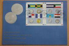Flaggen, Münzen - UNO NY - 1 KB auf FDC 2010
