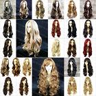 Wiwigs Fabulous Long Wavy Black Brown Blonde Red Skin Top Ladies Wigs