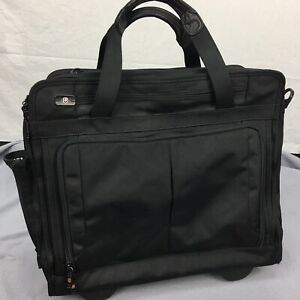 """Used Victorinox Rolling Luggage Business Laptop Multi Layer Bag 15"""" X 19"""""""