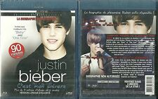 BLU RAY - JUSTIN BIEBER : LA BIOGRAPHIE  / NEUF EMBALLE - NEW & SEALED