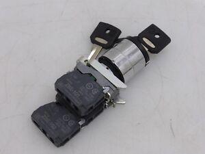 Keyswitch Telemecanique ZBE-101/ZBE-102