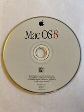 Apple Macintosh Mac OS 8 Mac Install Software Disc