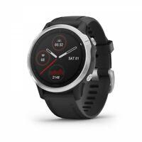 Garmin fenix 6s Multisport GPS Watch - Silver with Black Band 010-02159-01