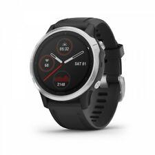 Garmin Fenix 6s Multisport GPS Uhr - Silber mit Schwarz Band 010-02159-01