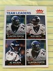 clinton portis rookie 2003 Fleer Tradition Card #248 denver broncos rod smith. rookie card picture