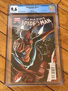 2014 Amazing Spider-Man #1 Mhan Variant CINDY MOON First App Silk Origin CGC 9.6