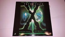 THE X FILES Darkness Falls / The Erlenmeyer Flask LaserDisc Laser Video Disc