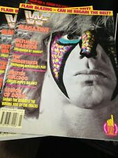 WWF WWE Magazine JULY 1992 Ultimate Warrior + Merchandise Catalog