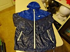 2011 RARE Nike Mens Flash Shield Jacket Windrunner NAVY BLUE Jacket Coat SZ L