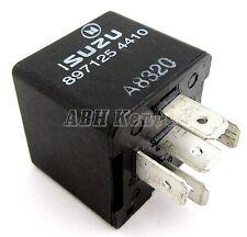 247-Isuzu & Vauxhall (90-10) 5-Pin Multi-Use Black Relay 8971254410 Omron Canada