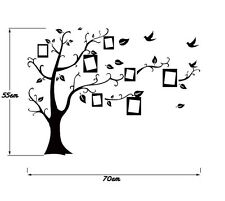 DIY Wall art Family Picture Photo Frame Tree Wall Decal Sticker Home Decoration
