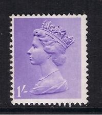 GB QEII Machin Definitive Stamp. SG 742 1968 1/- Light Bluish Violet MNH