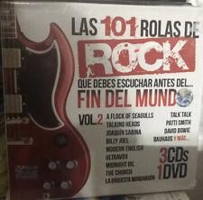 3cds & DVD 90s 80s 70s 101 Rolas Rock Ultravox Midnight Oil Talking Heads B Joel
