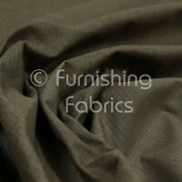 New Brown Plain Soft Wool Chenille Durable Quality Upholstery Furnishing Fabric