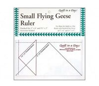 Small Flying Geese Ruler ~ 3 1/2 x 6 1/2 ~QUILT IN A DAY