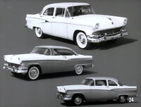 1956 Ford Versus Chevrolet and Plymouth - Dealer Promo - Film MP4 CD