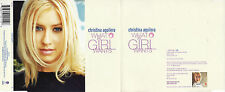 """CHRISTINA AGUILERA """"WHAT A GIRL WANTS"""" ULTRA RARE PROMOTIONAL CD"""