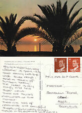 1980's PUERTO DE LA CRUZ TENERIFE SPAIN COLOUR POSTCARD