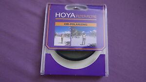 Hoya 72mm 72 mm Polarising Polarizing Polariser PL Camera Lens Filter
