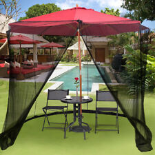 8-10FT Umbrella Screen Canopy Mesh Mosquito Net Enclosure Insect Outdoor