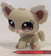 LPS Littlest Pet Shop #1199 Mold 2  Long Hair Dog Papillon Chihuahua Hasbro Rare