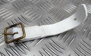 Genuine British Military Issue H Cav Buff Leather Strap And Brass Buckle HC3