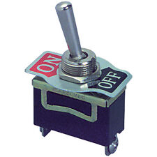SPST Heavy Duty Toggle Switch with Screw Terminals