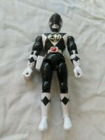 """Vintage 1993 8"""" Mighty Morphin Power Rangers Zach the Black Ranger Action Figure"""