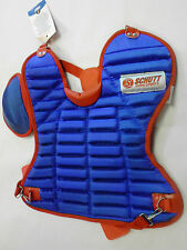 Schutt Sports Softball Catcher Chest Protector womens/girls Scp_Wcx Nwt blue/red