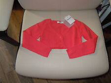 cardigan  repetto neuf  rose sorbet  4 ans  20% CASHEMIRE 84 euros