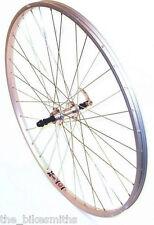 700c Freewheel Type Rear Wheel Aluminum Silver Hybrid Comfort Touring Bike 135mm