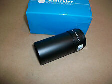 "Schneider Kreuznach Lens  F=45  (1.8"")   44.9    NEW IN BOX"