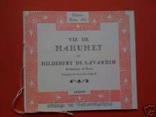 Pataphysique Hildebert de lavardin 1/144ex papier rose