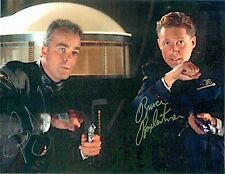 Bruce Boxleitner & Jerry Doyle of Babylon 5  8 x 10 Autograph Reprint
