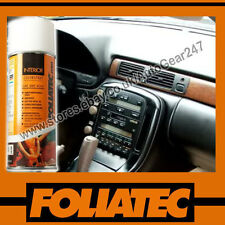FOLIATEC Car Interior Dashboard Door Plastic Vinyl Matt Beige Spray Paint
