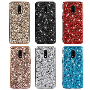 For OnePlus 7 Pro Case 6T Bling Glitter TPU Shockproof Ultra Slim Cover