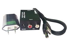 Easyday RCA Analog to Digital Optical Coaxial Toslink Audio Converter Adapter